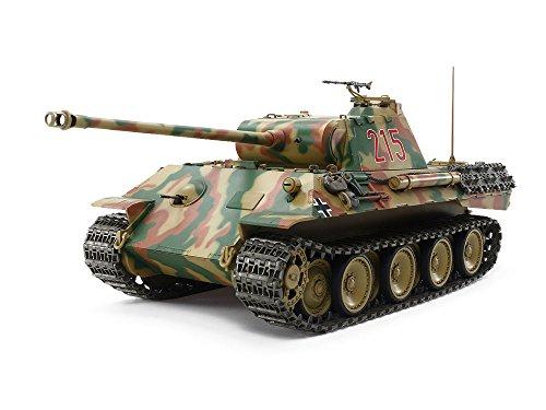 タミヤ 1/25 RCタンクシリーズ No.5 ドイツ戦車 パンサーA (...