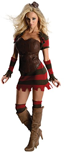 Rubie's Nightmare On Elm Street Freddy Corset Costume, Multicolor, X-Small