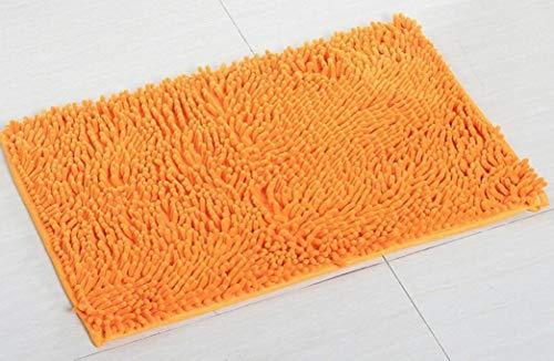 OMUSAKA Weiche hochflorige Fußmatte Mikrofaser rutschfeste Wasseraufnahme Schnelltrocknende, langlebige, antibakterielle Badteppiche