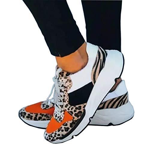 UMore Zapatillas Mujer Sneaker Zapatillas de Running para Mujer Zapatos para Correr y Asfalto Aire Libre y Deportes Calzado