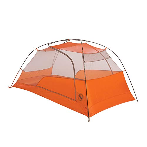 Big Agnes Copper Spur HV UL2 Backpacking Tent, Grey/Orange, 2 Person