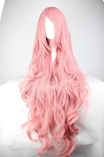 Perruque longue pour cosplay - Cheveux longs bouclés - Pour cosplay, fête costumée, Halloween, carnaval