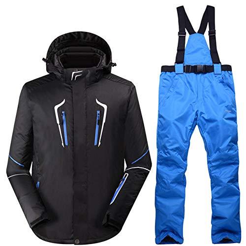MEOBHI Skipak voor heren, winddicht, waterdicht, snowboard, warm pak