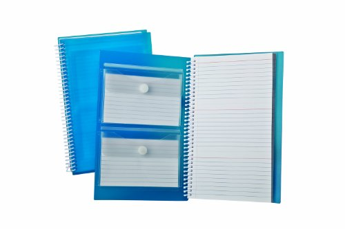 """Oxford Index Card Notebook, 3"""" x 5"""", Ruled, White, 3 Perforated Cards per Sheet, 150 Cards Total (40288)"""