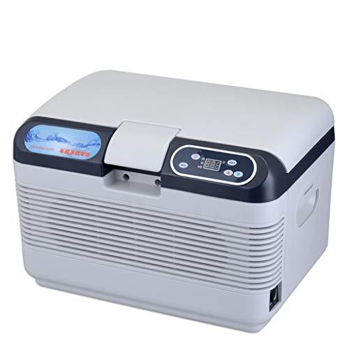 FAPROL Mini vrieskast auto koelkast slaapkamer koeler vrije instelbare temperatuur 12L make-up koelbox