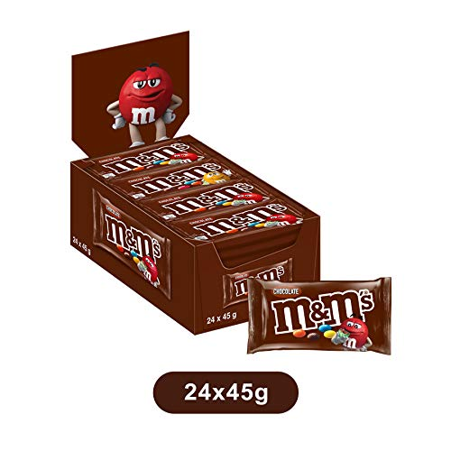 M&M's Choco confetti colorati cioccolato al latte, 24 bustine x45g (1800g)