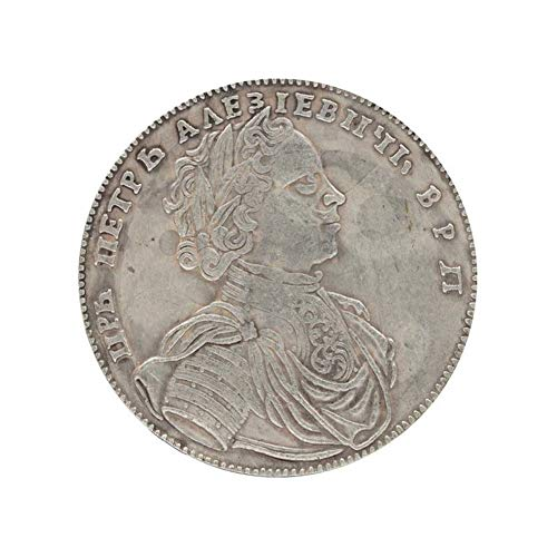 Xinmeitezhubao Münzsammlung, 1714 Russischer Doppeladler alte Münzen, Gedenkmünzen, Andenkengeschenkmünzen