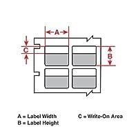 Brady B33-276-461 143013 BBP33 Laboratory Labels (Pack of 2 pcs) [並行輸入品]