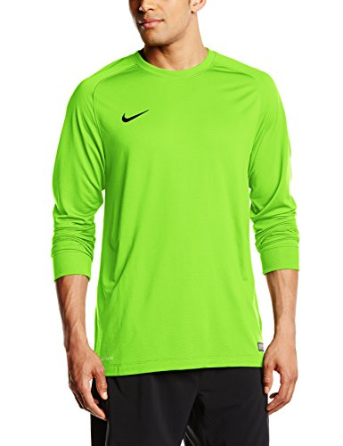 Nike Herren Goalkeeper Jersey Park II Langarm Torwarttrikot, Electric Green/Black, L