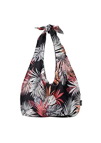 s.Oliver (Bags) Damen Strandtasche, 99A1 Grey Black, Einheitsgröße