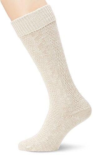 Stockerpoint Herren Trachten Socken Strümpfe 54060, Gr. 39/42 (Herstellergröße: 2), Beige (natur)