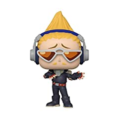 From My Hero Academia, Present Mic, as a stylized Pop! Stylized collectable stands 3 ¾ inches tall, perfect for any My Hero Academia fan! Collect and display all My Hero Academia POP! Vinyls!