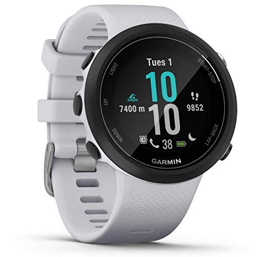Garmin Swim 2 GPS-Schwimmuhr mit Herzfrequenzmessung unter Wasser und speziellen Schwimmfunktionen, Schwimmbad-/Freiwasser-Modus, GLONASS, GALILEO, Sport-Apps, 7 Tage Akkulaufzeit, Smart Notifications