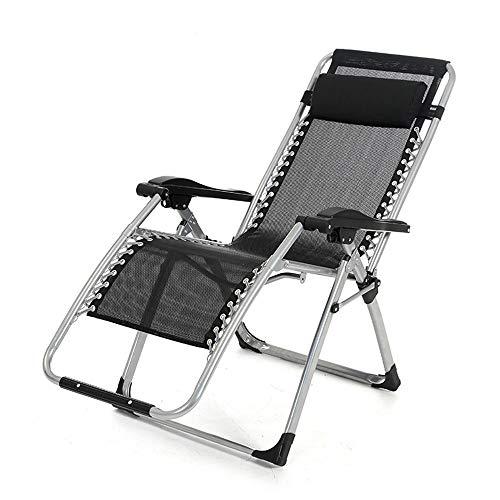 JINTOU Cero Gravedad Plegable Silla reclinable al Aire Libre Cama de Ocio