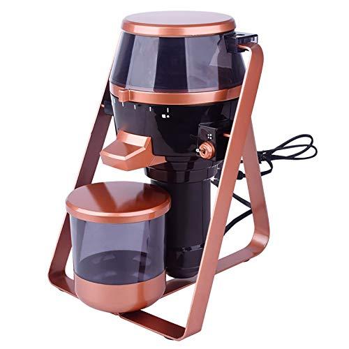 Zavddy Molinillo De Café Eléctrico Coffee Electric Ceramic Millinder Italiano Hogar Pequeña Pequeña Muela Ultra Fino Trituradora Comercial Adecuado para Semillas Y Cereales