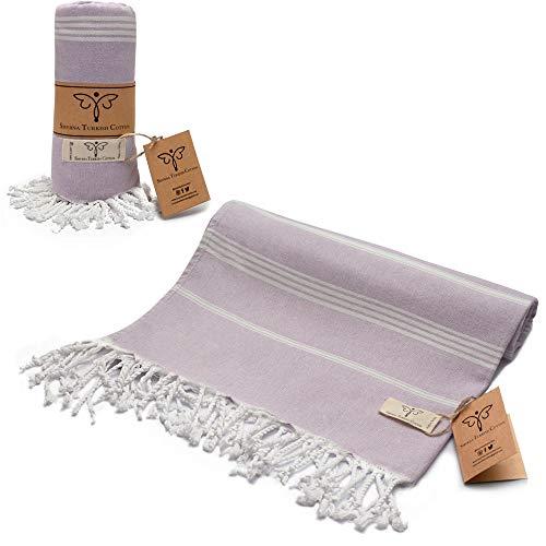 toalla lila fabricante Smyrna Turkish Cotton