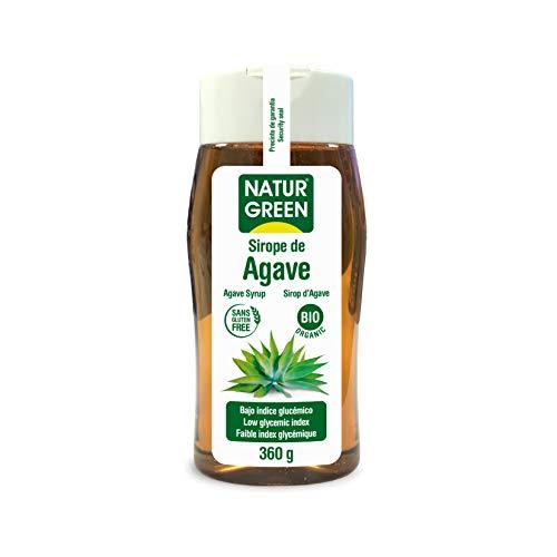 NaturGreen Sirope de Agave Bio, 360 gr, 1 unidad