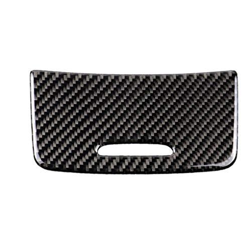 fgyhtyjuu Cigarette en Fibre de Carbone Panneau Lighter Couverture décoration Garniture/boîte de Rangement Couverture de Remplacement pour GLA/CLA/Classe