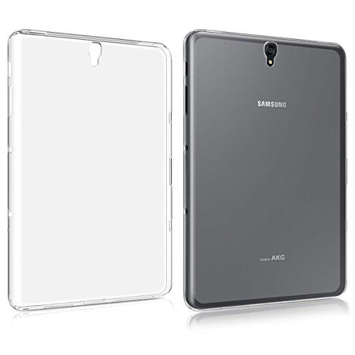 kwmobile Hülle kompatibel mit Samsung Galaxy Tab S3 9.7 T820 / T825 - Silikon Hülle transparent - Tablet Cover Transparent