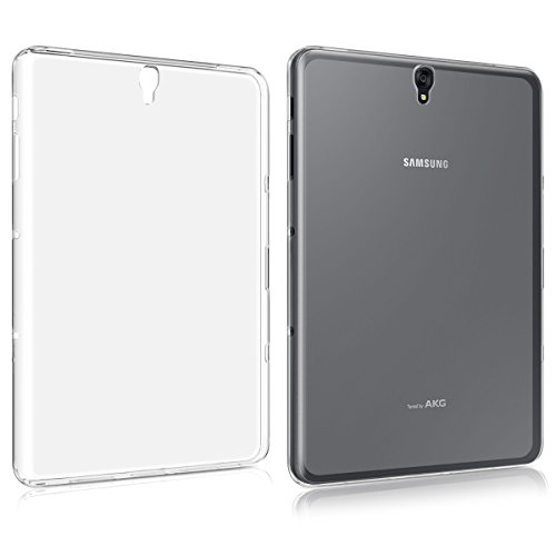kwmobile Hülle kompatibel mit Samsung Galaxy Tab S3 9.7 T820 / T825 - Silikon Tablet Cover Hülle Schutzhülle Transparent
