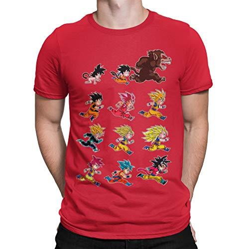 Camisetas La Colmena-4003-Evolutions of King Monkey (albertocubatas)