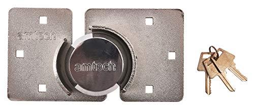 Amtech T1640 Schroefloos rond hangslot met sluiting, 73 mm