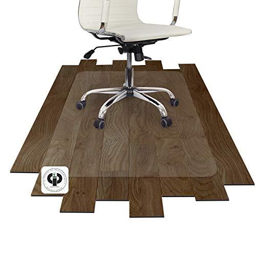 Performa® Antistatik Bodenschutzmatte für Parkett, Laminat, Fliesen, PVC und Steinböden (90x120 cm)