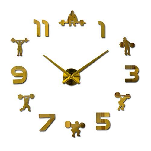 Wandklok Wandklok Quartz Horloge Modern Design Grote Decoratieve Klok Acryl