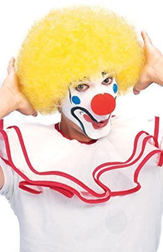Rubie's Popular Price Clown Wig, Yellow, One Size