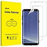 JETech Pellicola Protettiva Compatibile Samsung Galaxy S8 (Non per S8+), Film Ultra HD TPU, Confezione da 2