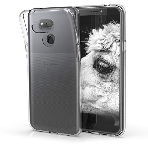 kwmobile Hülle kompatibel mit HTC Desire 12s - Hülle Handy - Handyhülle in Transparent