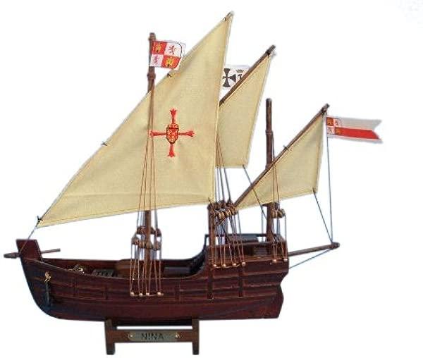 Hampton Nautical Nina Tall Ship 12