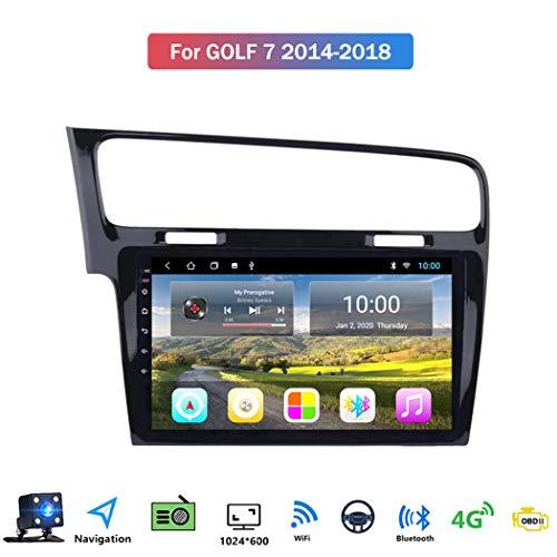Android 8.1 10.1 Pollici GPS Navigazione Sistemi Multimediali per VW Golf 7 2014-2018 con Car Multimedia FM AM Radio, WiFi Tethering Internet/Audio Stereo,4g+WiFi: 1+16gb