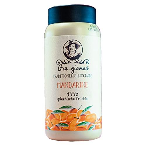Giagiamas Fruchtmus Mandarine   600g   Limonaden selber machen   Vitaminbooster   fresh fruit juice   vegan und glutenfrei   Sirup Alternative   kompatibel mit SodaStream