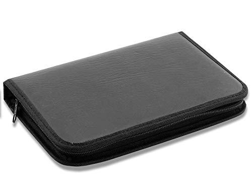 Fußpflege Tasche Universal Aufbewahrungs Etui LEER für Nagelzangen Set + Fußpflege Instrumente Ohne Inhalt