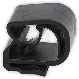 10 Pieces Original Bossmobil Rear Headlight Fastener Cable Holder Bracket trim clip E, 14 X 19 X 0, E39 E46 E90 F30 F32