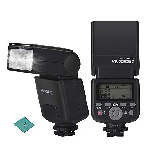 YONGNUO YN320EX Drahtlose TTL-Kamera Flash Master Slave Speedlite 1 / 8000s HSS GN31 5600K für Sony A7 / A7R / A7S / A58 / A99 / A77 II / A6000 / A6300 /...
