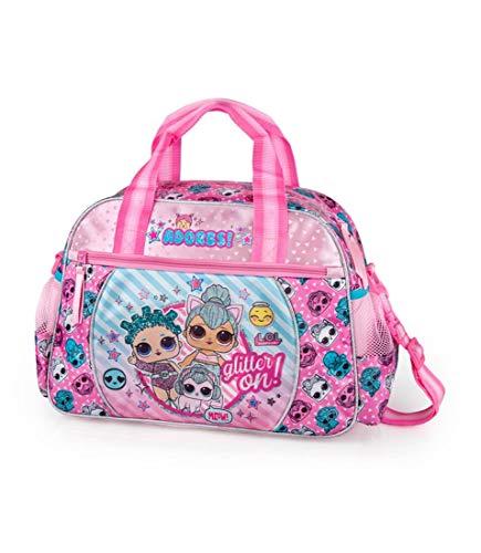 J. M. Inacio, Lda LOL Surprise Sporttasche klein 38x27x17 cm Reisetasche Trainingstasche Kinder Mädchen Teenager Schule