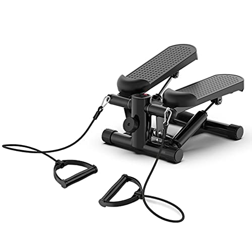 STEPPE Mini Hometrainer, Kompaktes Fitnessgerät mit Display, Einstellbarer Widerstand, Hydraulisches Antriebssystem,professionelle Trainingsgeräte für Frauen und Männer, 2 Farben Erhältlich