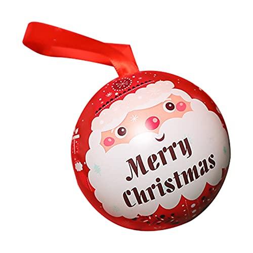 Cajas de dulces de Navidad Caja de regalo de Navidad Caja de regalo de Navidad Caja de dulces Caja de galletas de chocolate Cajas de almacenamiento Titulares C