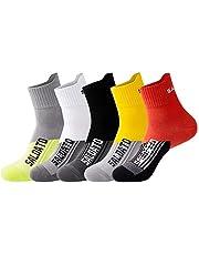 JEPOZRA Calcetines deportivos transpirable desodorante Calcetines para baloncesto running ciclismo trekking yoga Runing para, Térmicos, Transpirables, Acolchados y Anti-rozaduras