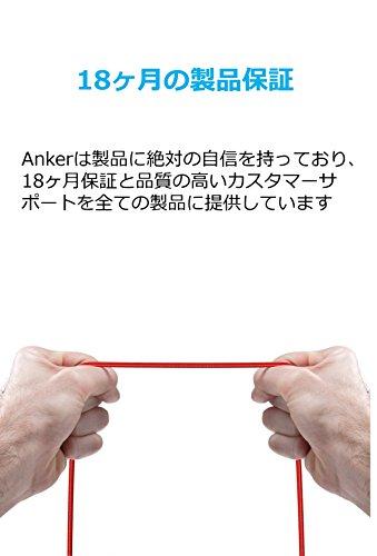 Anker(アンカー)『PowerLine+MicroUSBケーブル(0.3m)(A8141091)』