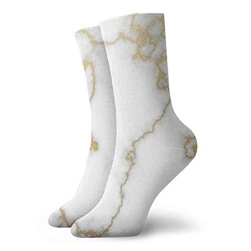 Calcetín de mármol blanco cálido al aire libre para senderismo de 30 cm para todas las estaciones de la temporada de deportes de correr calcetines para hombres y mujeres