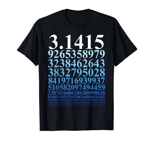 Pi Zahl Mathe Mathematik Mathelehrer Nerd Geek Physiker T-Shirt