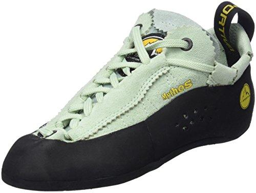 La Sportiva Mythos, Zapatos de Escalada Mujer, Gris (Lady 000), 37 EU