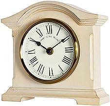 Towcester Clock Works Acctim 33282 Falkenburg - Reloj analógico de Mesa, Color Crema