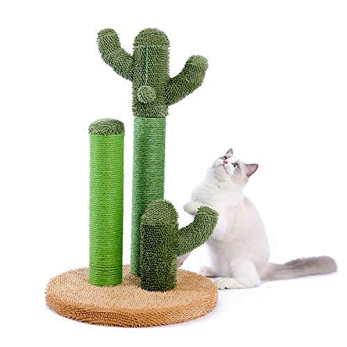 PAWZ Road Cat Scratching Post Cactus Cat Scratcher Featuring...