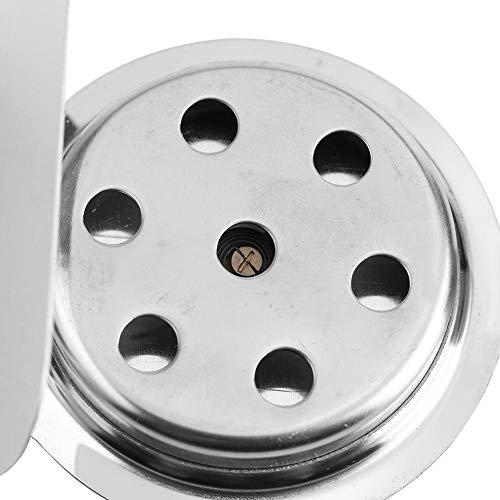 Termómetro de horno, universal, 1 pieza, de acero inoxidable, para colgar o colocar en el horno, para barbacoa, cocina, cocina, hornear, herramienta de medición de temperatura