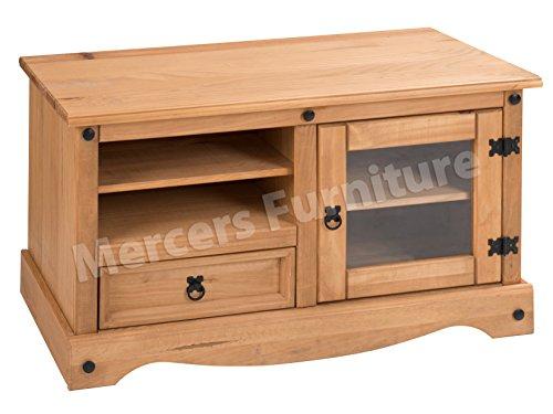 Mercers Furniture TV-Einheit, antiquität wachs, 106 x 44 x 58 cm
