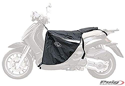 Puig 5508N Cubrepiernas Scooter Universal Impermeable, Negro